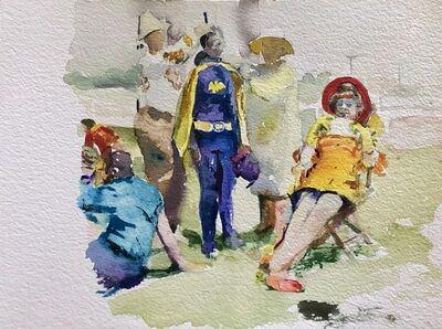 Zach Seeger, 'Batgirl Unmasked', 2020