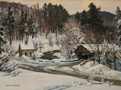 TM Nicholas, 'Fresh Snow- Johnson, VT', 2019