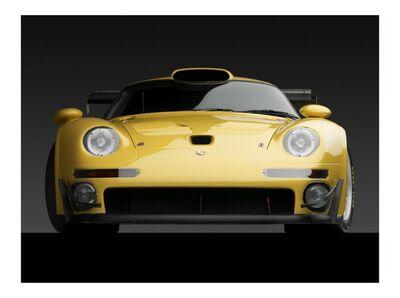 Michael Furman, '1996 PORSCHE 911 GT1 – FRONT', ca. 2014