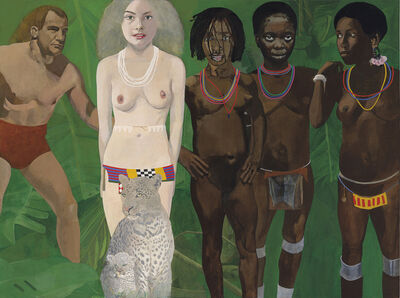 Peter Blake, 'Tarzan meets the jungle goddess', -1994