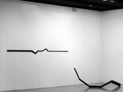 Norman Dilworth, 'horizontal II', 1979