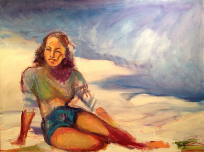 Preston Sampson, 'Beach Girl'