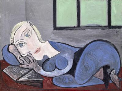 Pablo Picasso, 'Femme couchée lisant', 1939