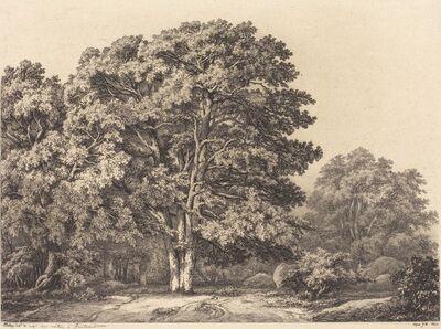 Eugène Bléry, 'Entrance to a Forest', 1840