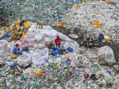 Edward Burtynsky, 'Dandora Landfill #3, Plastics Recycling, Nairobi, Kenya', 2016
