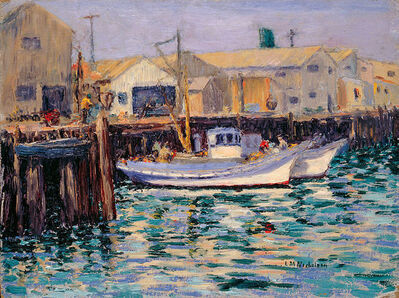 Lillie May Nicholson, 'Fishing Boats: Fisherman's Wharf, Monterey, California', ca.1923-1933
