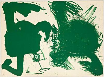 Walasse Ting 丁雄泉, 'Green Bombshell ', 1964