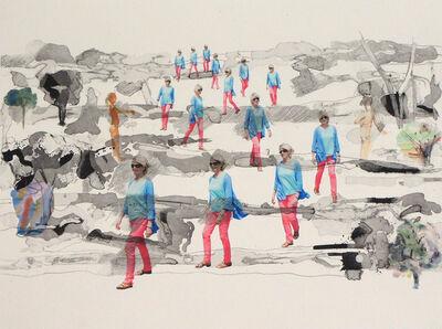 Peik Larsen, 'Field Walking', 2014