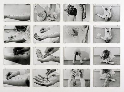 Gina Pane, 'Azione Sentimentale, 9 novembre 1973', 1973