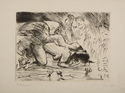 Lovis Corinth, 'Leda mit dem Schwan (Leda and the Swan)', 1924