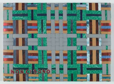 Adel Abdessemed, 'Cocorico painting, Non ci sono,', 2017-2020