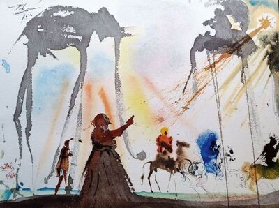 "Salvador Dalí, 'Omnes de Saba venient - From ""Biblia Sacra""', 1964"