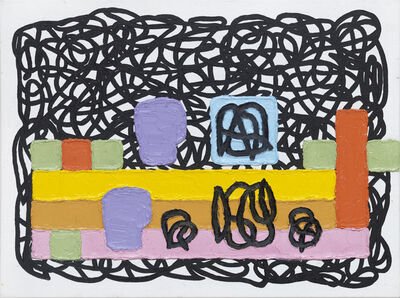 Jonathan Lasker, 'Competitive Identities', 2017