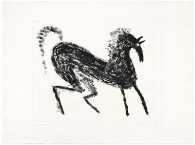 Judy Kensley McKie, 'Fast Horse', 1988