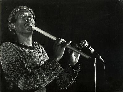 Jacques Bisceglia, 'Flutist Don Cherry, Actuel Festival, Amougies, Belgium', 1969