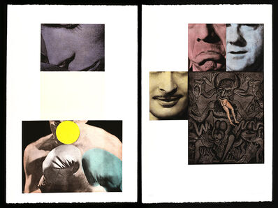 John Baldessari, 'Heaven and Hell', 1988