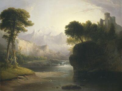 Thomas Doughty, 'Fanciful Landscape', 1834