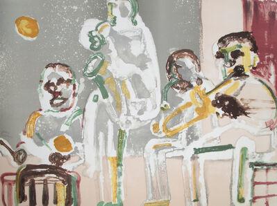 Romare Bearden, 'Tenor Sermon (from Jazz series)', 1979