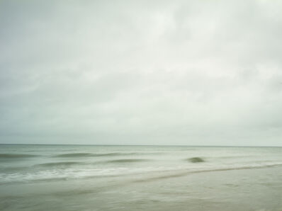 Donald Weber, 'Sword Beach - October 21, 2014, 8:30am. 14ºC, 87% RELH, Wind WSW, 19 Knots. VIS: Good, Overcast Clouds, Haze', 2014