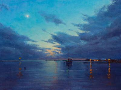 Carl Bretzke, 'Harbor Evening Clouds', 2019