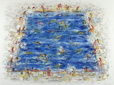 Stephen Forbes, 'Swimming Pool III', 2018