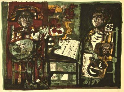 Antoni Clavé, 'Les Musiciens', ca. 1960
