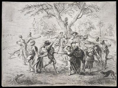 Peter Paul Rubens, '[Dance of the Italian peasants]', 1640