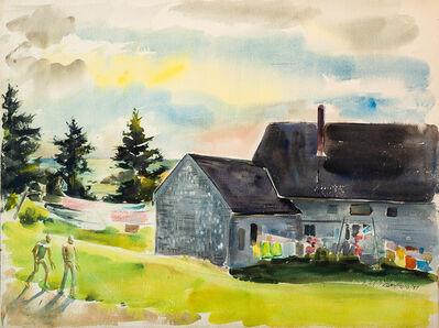 Edward Christiana, 'Horseshoes, Trailing Yew (Monhegan Island)', 1977