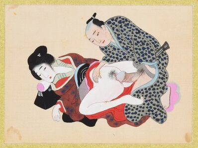 Unknown, 'Japanese Erotic scene', XIX century