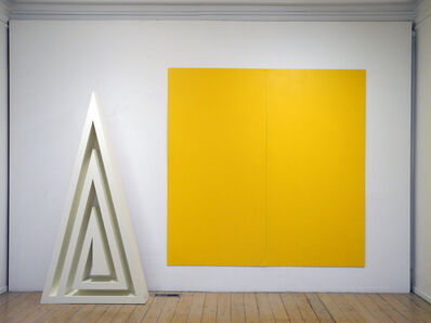 Nixon/Parr, 'Labyrinth wedge — yellow monochrome', 1997