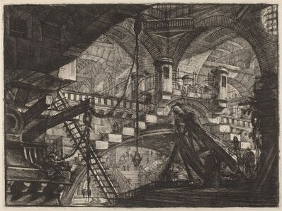 Giovanni Battista Piranesi, 'The Arch with a Shell Ornament', published 1800/1809