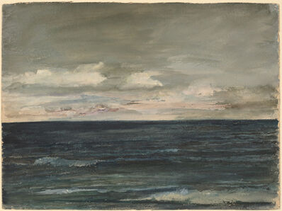 John La Farge, 'Lesson Study on Jersey Coast', 1881