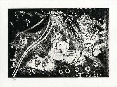 Pablo Picasso, 'Plate IV, Le Cocu Magnifique', 1968