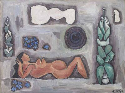 """Julio Alpuy, '""""Desnudo de las flores azules""""', 1975"""