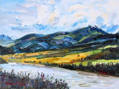 Zhou Shilin, 'Blue Mountain', 2013