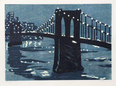 RICHARD BOSMAN, 'Bridges IV (Brooklyn Bridge)', 1997