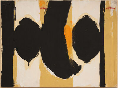 Robert Motherwell, 'Elegy to the Spanish Republic No. 60', 1960