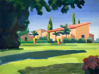 John Goodrich, 'Lawn and Buildings', 2012-16