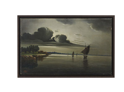 Abdul Qadir Al Rassam, 'View of the Tigris', 1934