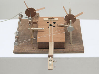 O Grivo, 'Violin machinery', 2014