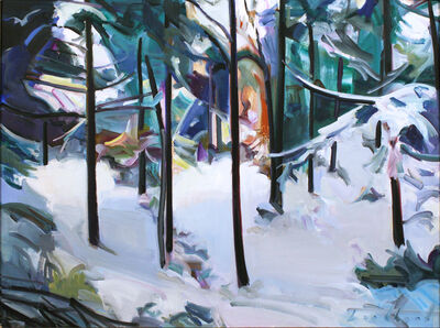 Kenneth Lochhead, 'Winter Place', 1997