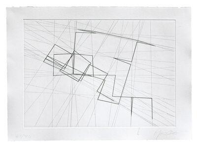 François Morellet, 'π piquant', 2001