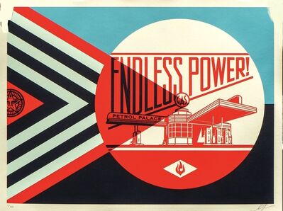 Shepard Fairey, 'Endless Power Petrol Palace', 2019