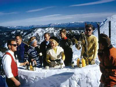 Slim Aarons, 'Apres Ski, Squaw Valley', 1961