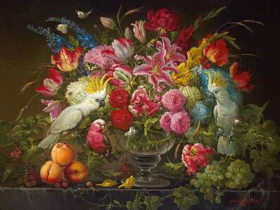 Yana Movchan, 'Vibrant Floral', 2010-2014