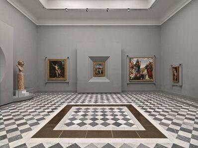 Massimo Listri, 'Uffizi, Sala di Michelangelo I, Firenze, Italy', 2018