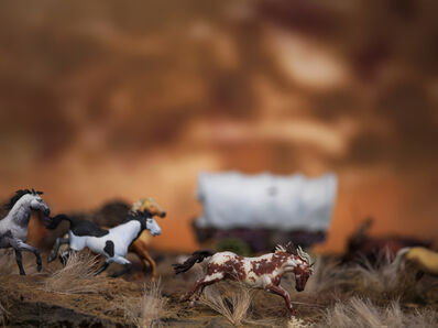 David Levinthal, 'Untitled from the Series Wagon Train', 2018