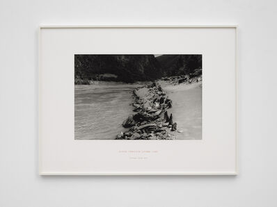 Richard Long, 'River Yangtze Stone Line, China', 2010