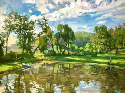 Francis Sills, 'Down at the Pond', 2021