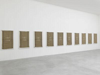 Matias Faldbakken, 'Untitled (D.ou/CH) #11-20', 2013